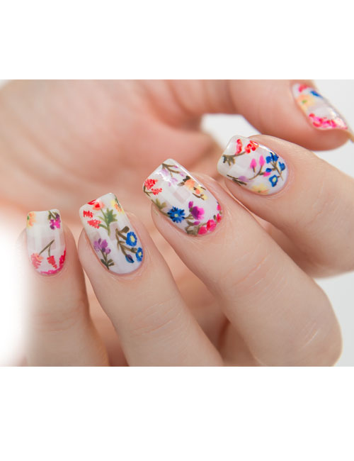 wedding-2016-bridal-nail-art-floral-NAFW-wedding-nail-ideas-for-bride
