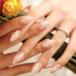 wedding-bridal-nails-nail-art-latest-2016-nailsmag-peach