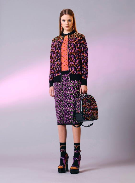 19_Versace_Women's_Pre-ss17-purple-print-suit-skirt-bag-shoes