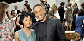 Willow SMITH and Will SMITH-chanel-couture-fall-winter-2016_FW16-17- show_Celebrities