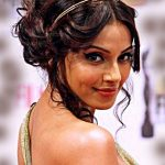 best-hairstyling-updo-messy-curly-indian-wedding-hairstyle-for-guest-actress-bipasha--basu
