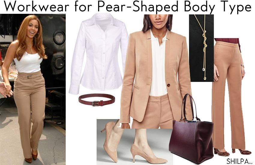 Best Work Wear Ideas For Pear Shaped Body