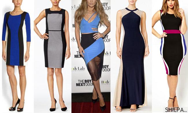 how-look-slimmer-color-blocking-jennifer-lopez-dresses-to-look-slimmer