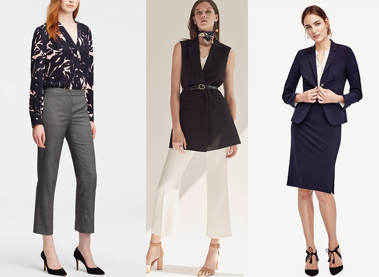 how-to-dress-ideas-for-work-wear-pear-shaped-women-office-suits