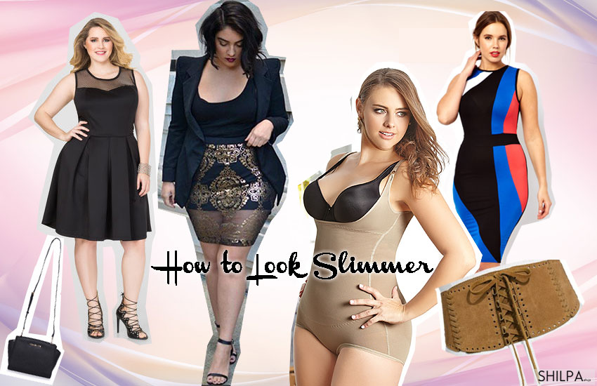 how-to-look-slimmer-accessories-belts-corsets-black-monochromatic-long-jackets