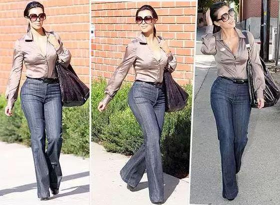kim-kardashian-work-wear-pear-shaped-women-office