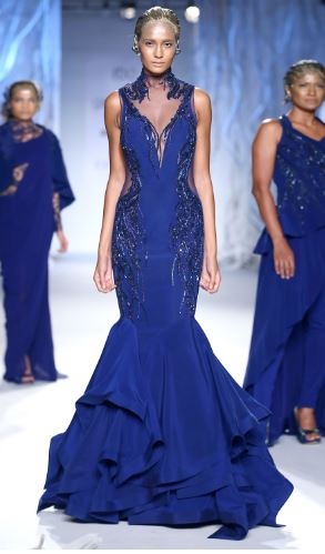 latest-indian-engagement-gowns-dresses-outfit-clothes-blue-gaurav-gupta