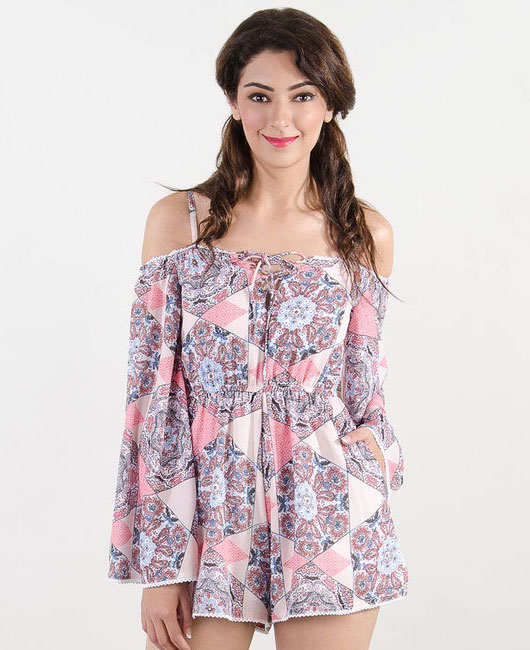off-shoulder-rompers-printed-stalk-buy-love-online-shopping-cheap-tops-for-women
