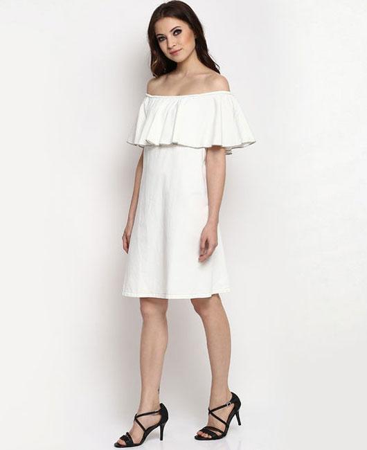 off-the-shoulder-dresses-online-india-stalk-buy-love-shopping-white-knee-length