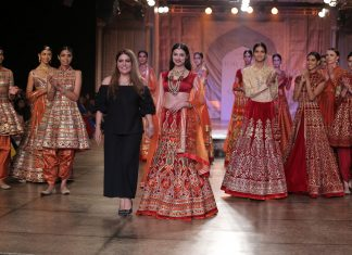 Designer-Reynu-Taandon- Divya-Kumar- Khosla- Kamanagri- Reynu-Taandon-India- Couture-Week-collection-2016