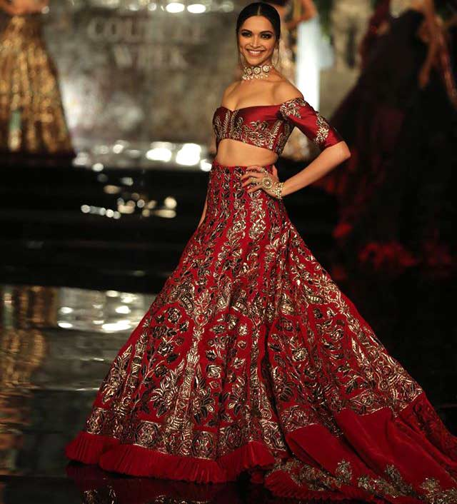 deepika-padukone-manish-malhotra-couture-collection-2016-red-crimson-lehenga
