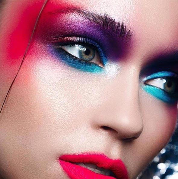eye-shadow-blue-mix-pink-loreal-make-up-colorriche-lorealleague-1