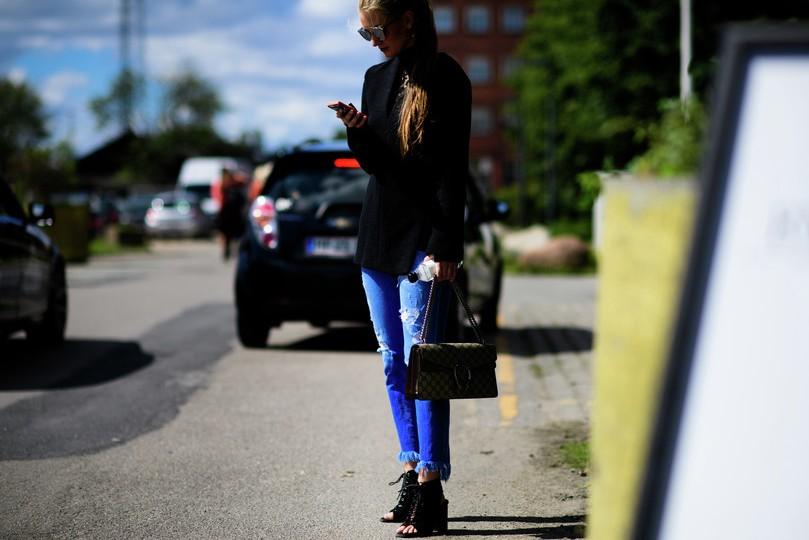 fashion-street-style-best-copenhagen-fashion-week-street-style-black-top-denim-ripped-jean-spring-summer-2016