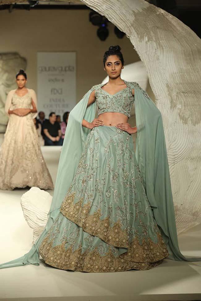 gaurav-gupta-india-couture-week-collection-2016-dress (8)-turquoise-blue-lehenga-gold