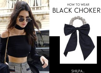 how-to-wear-black-chokers-latest-6-trendy-casual-party-outfits-celeb-inspired-kendall-jenner