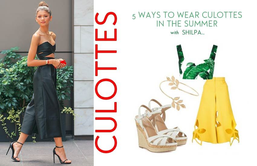 how-to-wear-culottes-in-summer-ways-pair-outfits-casual