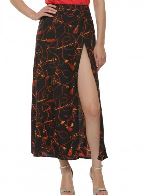 koovs-printed-slit-skirt-online-shopping-best-new-cheap-budget-womens