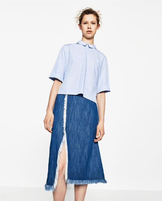 long-slit-skirts-online-shopping-latest-best-buy-india-zara-blue-denim
