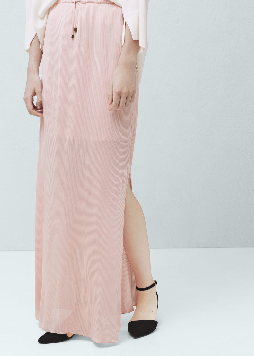 long-textured-mango-skirt-slit-maxi-peach-online-shopping-best-ladies