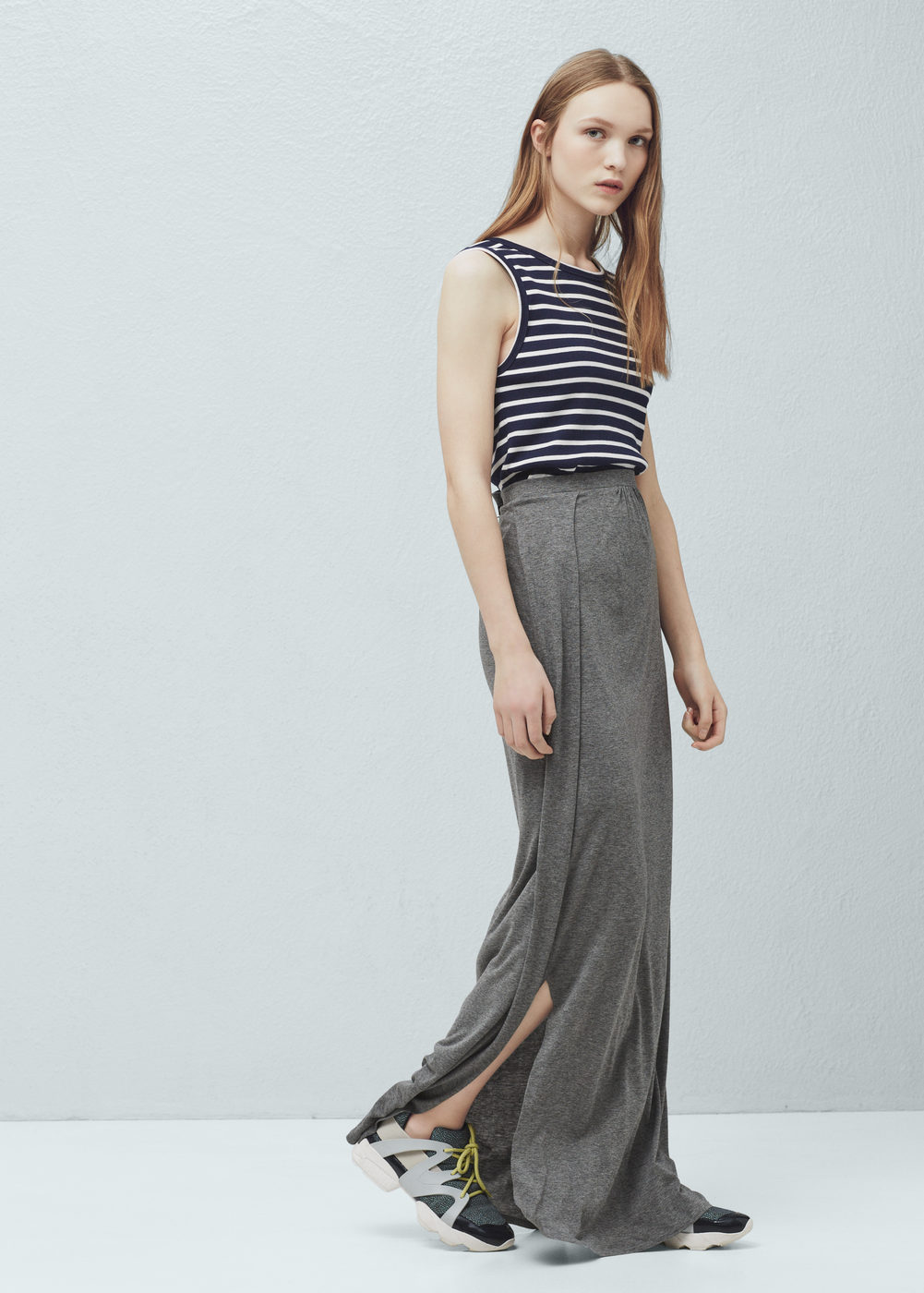 mango-flowy-grey-long-skirt-shopping-online-rupees-india-maxi-long-girls-top