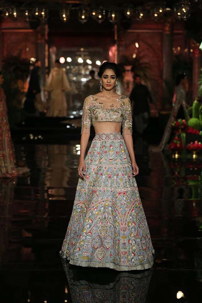 manish-malhotra-couture-collection-2016 (7)-blue-lehenga-choli-engagement