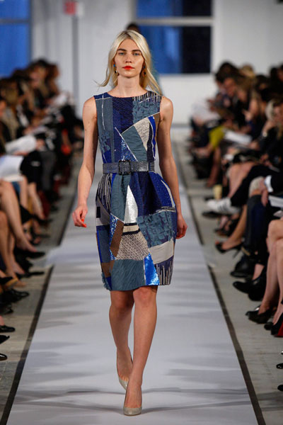 oscar-de-la-renta-resort-2012-patch-work-2016-latest-denim-blue