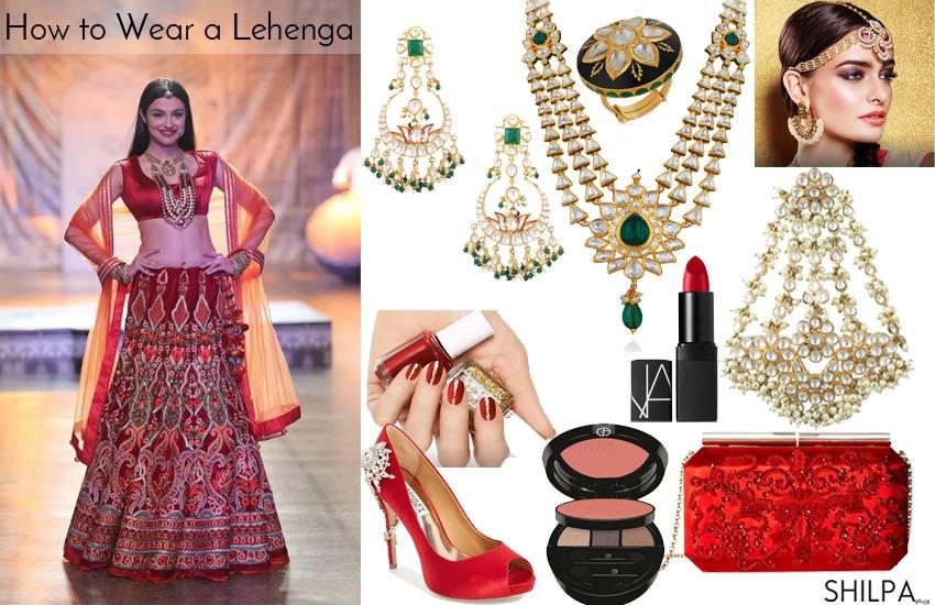 reynu-taandon-designer-red-lehenga-kundan-accessories-bridal-wear