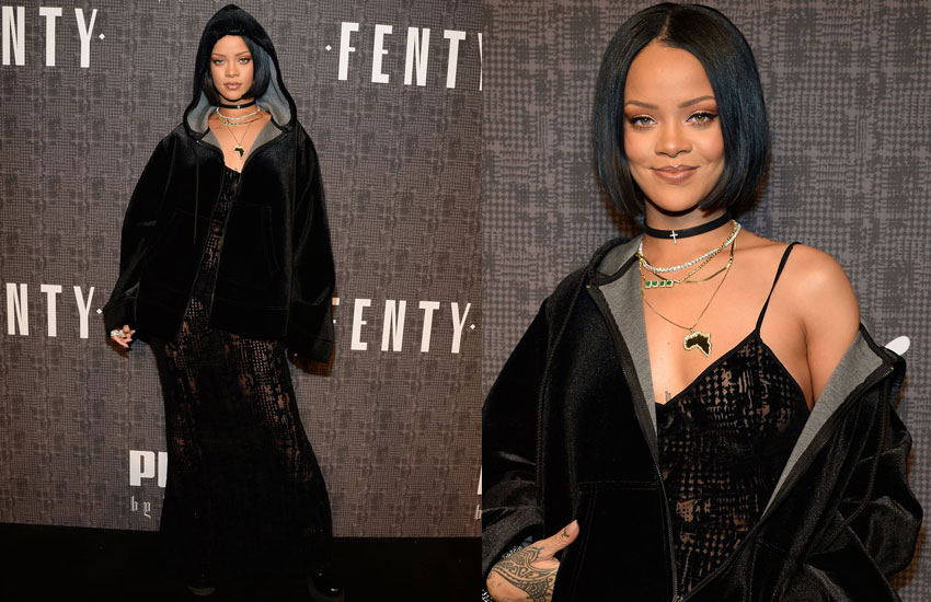 rihanna-black-chokers-jacket-velvet-how-to-wear-chokers