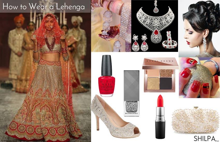 tarun-tahiliani-designer-red-lehenga-diamond-accessories-bridal-wear