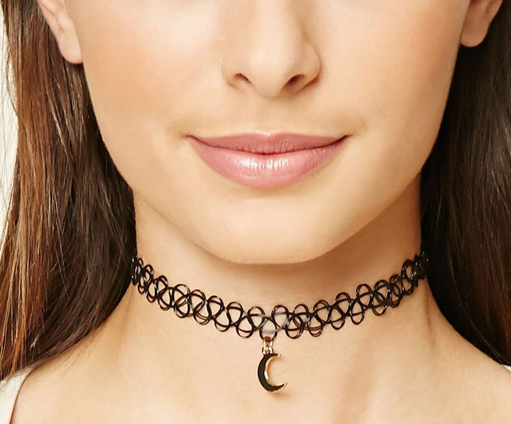Online shopping ideas for tattoo chokers and more for Black tattoo choker