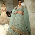 designer-gaurav- gupta-loose-sleeves-embroidered-sequin-lehenga-india-bridal-couture-2016