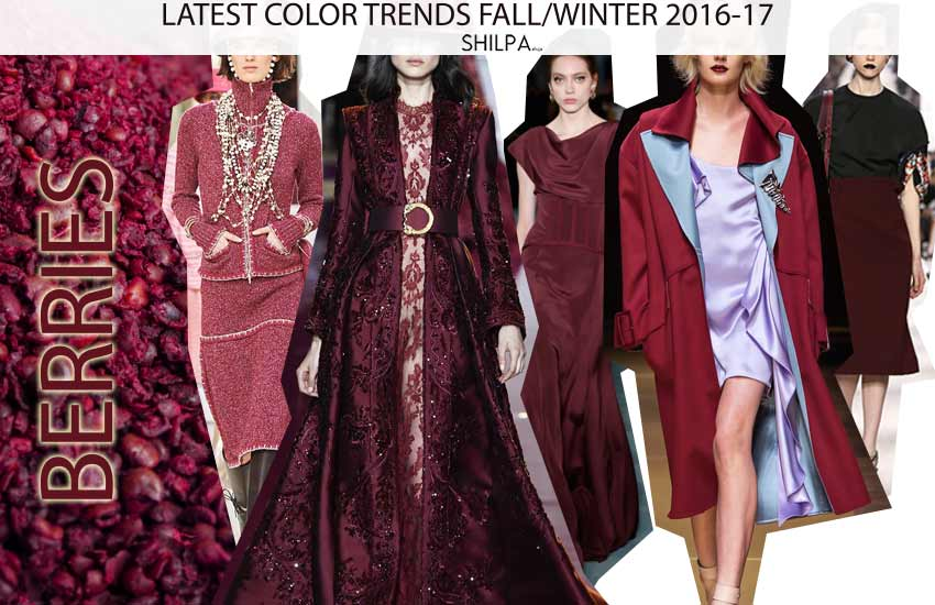 Top Fall Fashion Color Trends To Wear In 2016