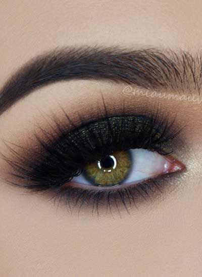 latest-trends-black-smokey-eyeshadow-mascara-loreal-makeup-fall-2016