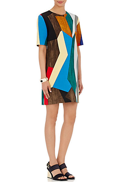 marini-patchwork-dresses-multicolored-2016-latest