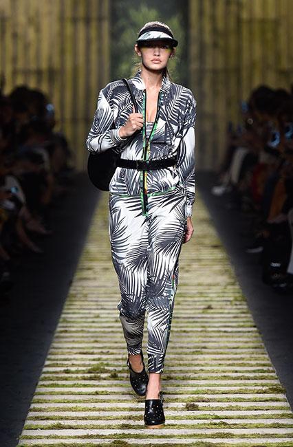 max-mara-ss17-collection-spring-summer-2017-dress-1-gigi-hadid-tropical-print-jumpsuit-cap-back-pack
