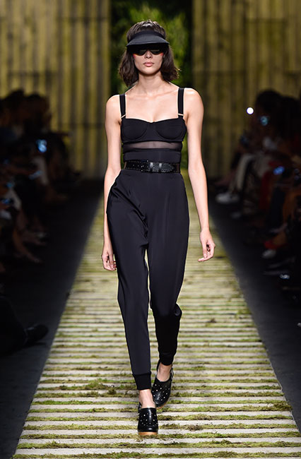 max-mara-ss17-collection-spring-summer-2017-dress-32-black-sheer-top-black-belt-shoes-cap