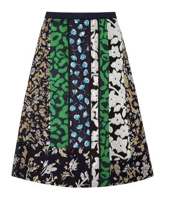 oscar-de-la-renta-patchwork-a-line-skirt-online-shopping-usd