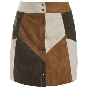 sans-souci-patchwork-suede-a-line-skirt-usd-online-shopping