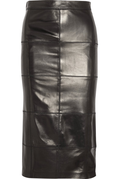 tom-ford-patchwork-skirt-knee-length-leather-shopping-online-latest-trends