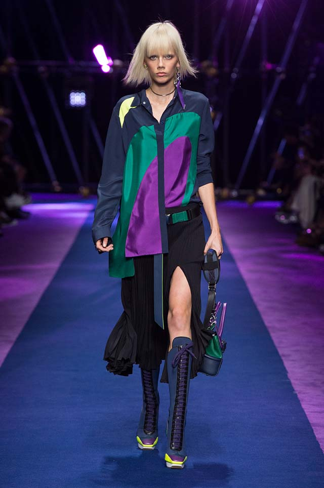 versace-ss17-spring-summer-2017-collection-dress-9-multi-colored-shirt-slit-skirt-belt