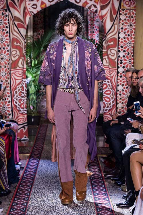roberto-cavalli-spring-summer-2017-ss17-rtw-dress-35-formals-printed-shirt-printed-violet-coat-blue-scarf
