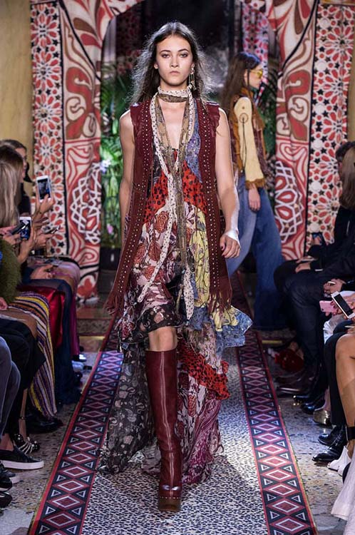 roberto-cavalli-spring-summer-2017-ss17-rtw-dress-9-multicolored-one-piece-scarf-burgundhy-coat-booties