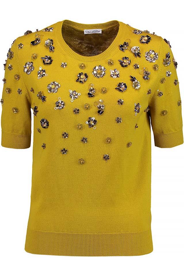 best-shopping-sweater-2017-winter-embellished-oscar-de-la-renta-latest-yellow
