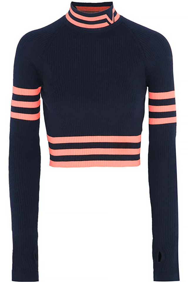 crop-sweaters-navy-blue-versace-trends-2017-winter-fashionable-outfit