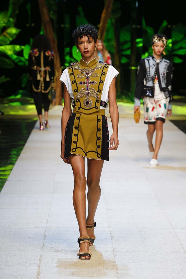 dolce-gabbana-spring-summer-2017-ss17-rtw-6-mustard-studded-top-mini-skirt