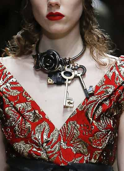 fall-jewelry-trends-prada-rtw-novelty-statement-keys-necklace-2016