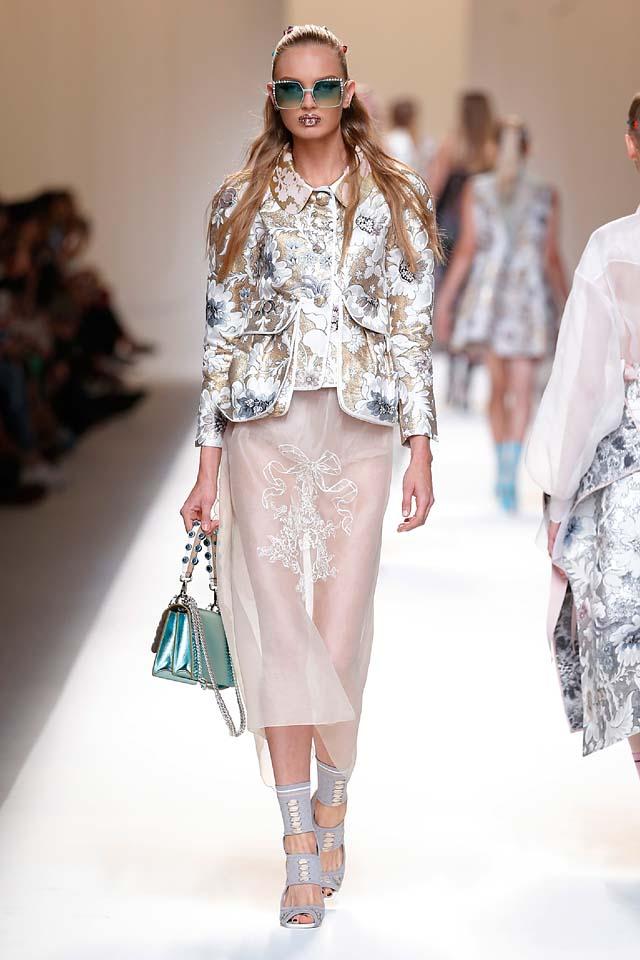 fendi-spring-summer-2016-dress-ss17-42-printed-shirt-sheer-maxi-handbag-sunglasses