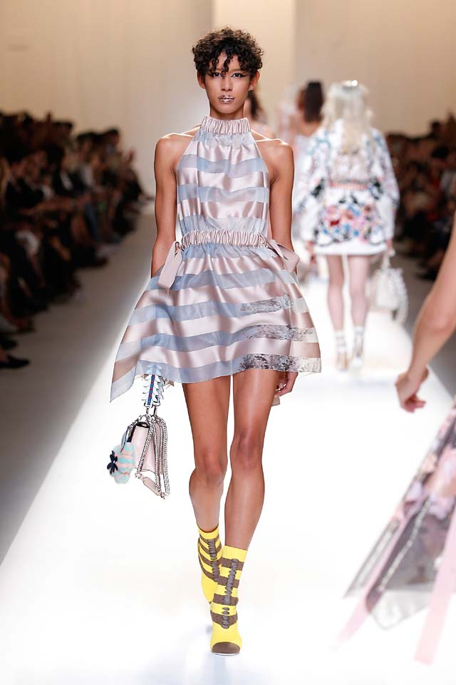 fendi-spring-summer-2016-dress-ss17-49-stripes-mini-dress-handbag-booties