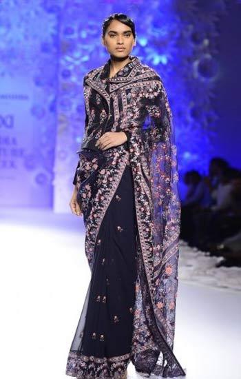 11 Latest Designer Sarees For 2017 Top Wedding Saree Trends