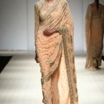 latest-saree-fashion-trends-designs-long-sleeve-blouse-peach-motifs-rabani-rakha-spring-2017